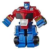 Hasbro Transformers - Optimus Prime (Playskool Heroes Rescue Bots Academy, Giocattolo trasformabile, Action Figure da 11 cm)