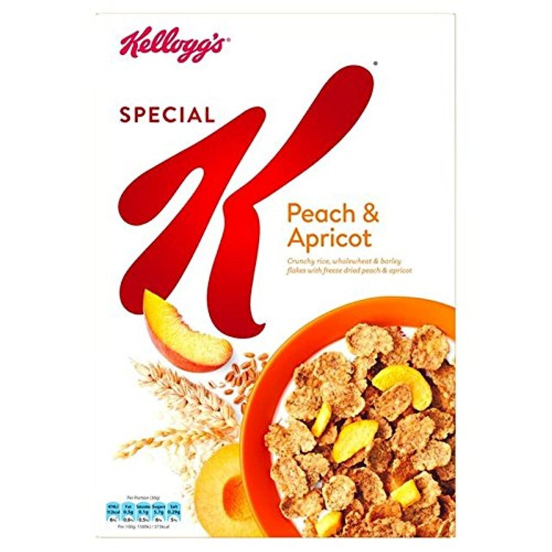 (Kellogg's (ケロッグ)) 特別なK個の桃&アプリコット360グラム (x4) - Kellogg's Special K Peach & Apricot 360g (Pack of 4) [並行輸入品]