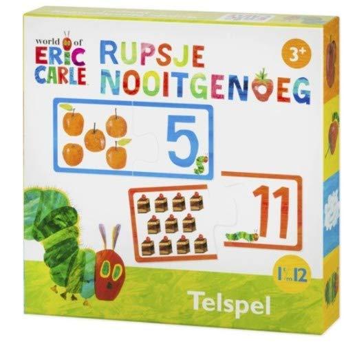 Spel - Telspel - Rupsje Nooitgenoeg