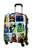 American Tourister Marvel Legends - Spinner S, Equipaje de mano, 55 cm, 36 L, Multicolor (Marvel Pop Art)