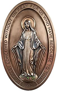 miraculous medal plaque