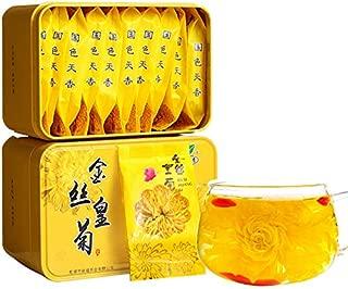 Golden silk chrysanthemum 4g Huangshan Chrysanthemum Herbal tea One flower One cup Chrysanthemum Tea 金丝皇菊 4g 黄山贡菊 花草茶 一朵一杯 菊花茶