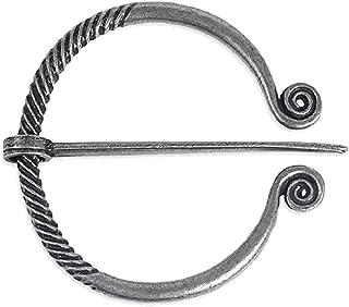 Broche Penanular antiguo de Náuticos Vikingo Nórdico Fíbula Nórdica