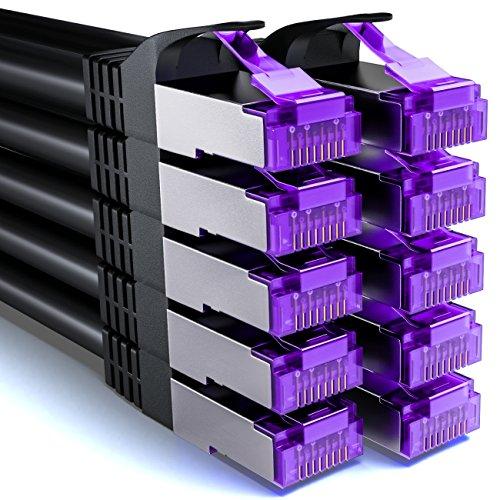 deleycon 10x 1m rj45 patchkabel