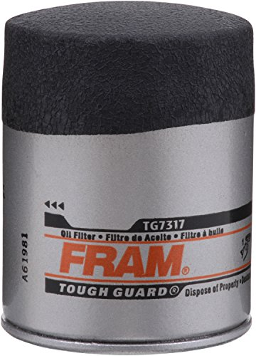 FRAM Tough Guard TG7317-1, 15K Mile Change Interval Passenger Car Spin-On Oil Filter