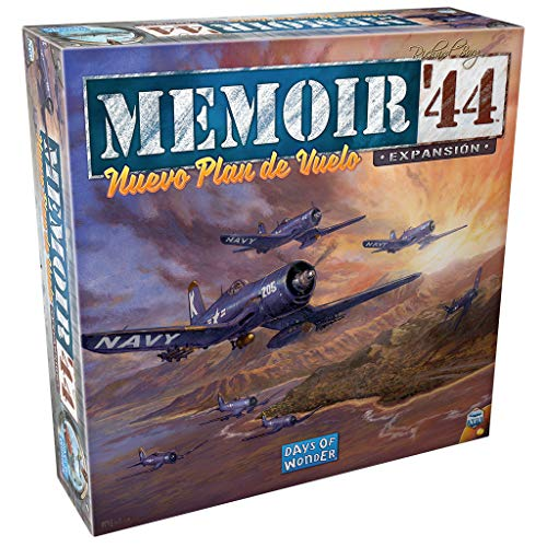 Days of Wonder- Memoir '44: Nuevo Plan de Vuelo, Color (DOW730827)