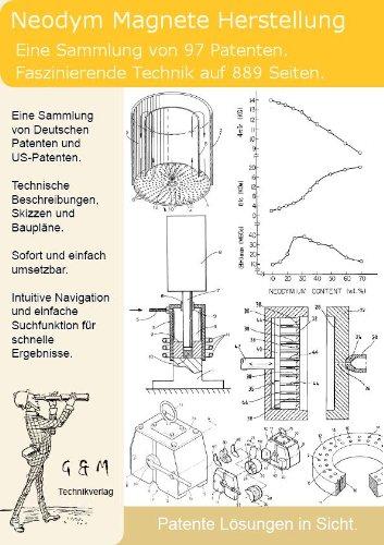 Neodym Magnet Herstellung: 97 Patente zeigen was dahinter steckt