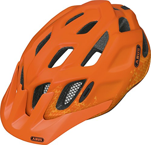 Abus Fahrradhelm Mount K, trey orange, M
