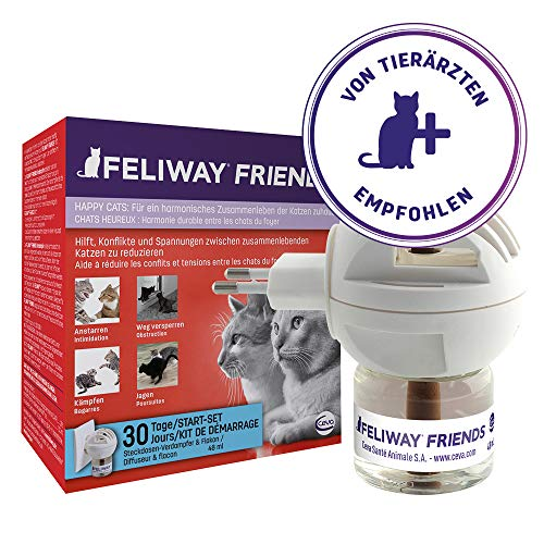Feliway Friends Start-set, verdamper voor stopcontacten en flacon