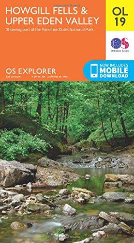 OS Explorer Map OL19 Howgill Fells