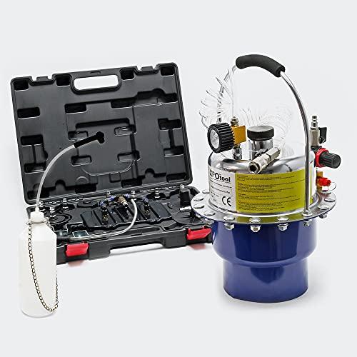 XPOtool Set Purge de Frein pneumatique Dispositif Automatique Échange de Liquide de Frein 5L 3bars