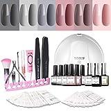 Modelones Gel Nail Polish Kit with UV Light - 6 Colors Gel Matte - Best Reviews Guide