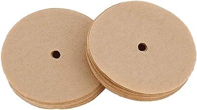FLAMEER 100 st bryggritskiva stil kaffefilter för perkolator droppa kaffebryggare