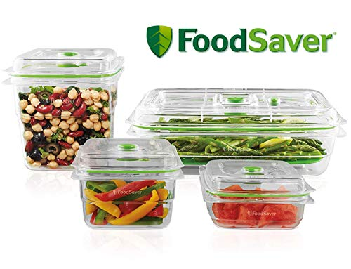 For Sale! FoodSaver B01AJJ1WNA FA4SC35810-000 Fresh Vacuum Seal Food and Storage Containers, 4-Piece...