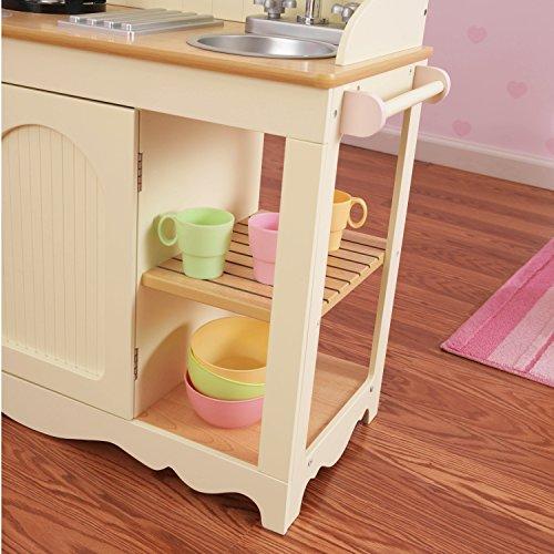 KidKraft 53151 Prairie Prärie-Spielküche aus Holz in Weiß Landhaus Kinderküche - 10