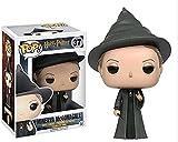 """Película POP:""""Harry Potter y la cámara secreta"""", la popular muñeca modelo de personaje de la profesora Minerva McGonagall, regalo de 10 cm (3,9 pulgadas)"""