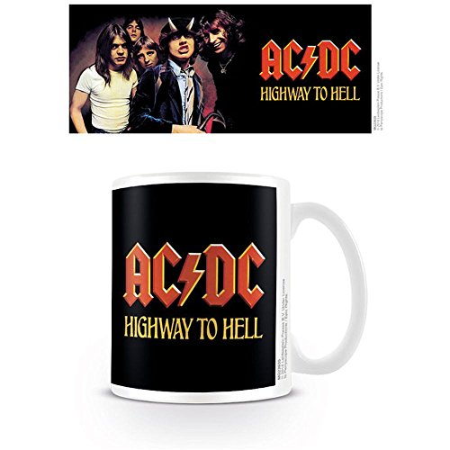 AC/DC Highway to Hell Tasse