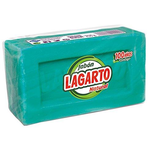 Lagarto Jabón Natural Verde - Paquete de 48 x 250 gr - Total: 12000 gr