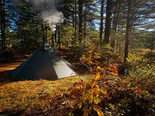 OneTigris Iron Wall Stove Tent with Inner Mesh, Weighs 1900g 1