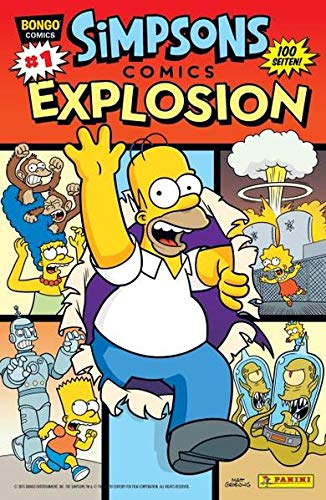 Simpsons Comics Explosion: Bd. 1