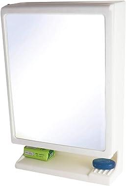 BRANCO New Look Plastic Multicpurpose Cabinet White , 1 Door