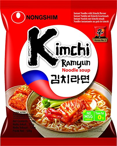 NONGSHIM Instant Nudelsuppe Kim Chi, 120 g
