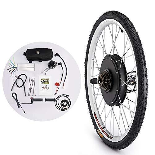 Sfeomi Kit de Conversión de Bicicleta Eléctrica 36V 500W Kit de Conversión de Bicicleta Electric Bike Conversion Kit con Controlador de Modo Dual (para Rueda Delantera)
