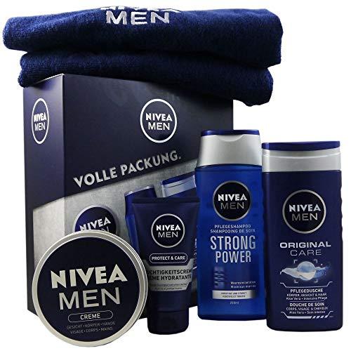 Nivea Geschenkset Volle Packung, 5 teilig für Männer
