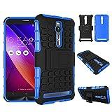 pinlu® Coque pour ASUS ZenFone 2 ZE551ML / ZE550ML (5.5pouce) Smartphone Double Couche Rugged 2 en...