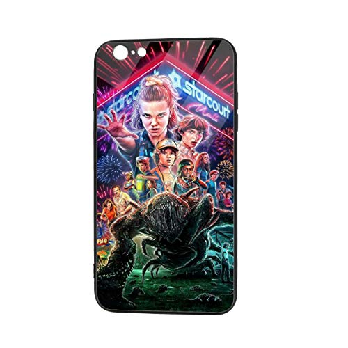 Dream-Seeker iPhone 6/6S Case Tempered Glass Super Touch Feel Stranger Things Mobile Phone Shell TPU Bumper Cover