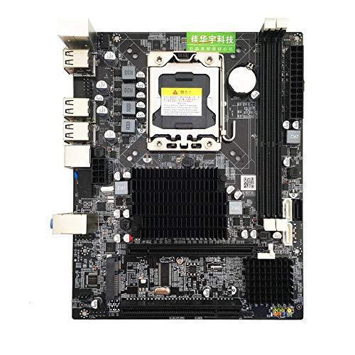 Peanutaoc Desktop Moederbord Computer Moederbord Voor X58 LGA 1366 DDR3 16 GB Ondersteuning ECC RAM Voor Quad-Core Six-Core Naald 8PIN