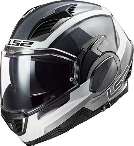 LS2 Motorradhelm FF900 VALIANT II ORBIT JEANS, Grau, XL