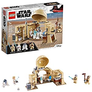 LEGO Star Wars: A New Hope Obi-Wan's Hut 75270 Hot Toy Building Kit; Super Star Wars Starter Set for Young Kids, New… - 51COmJusLrL - LEGO Star Wars: A New Hope Obi-Wan's Hut 75270 Hot Toy Building Kit; Super Star Wars Starter Set for Young Kids, New…
