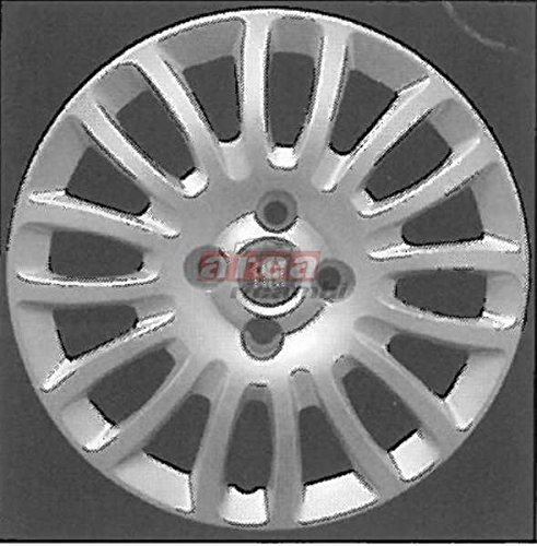 Wieldoppen voor Fiat Grande Punto 07/2008 diameter 15 wieldoppen