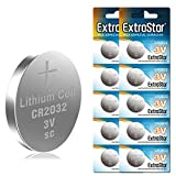 Extrastar Pilas Boton CR2032 3V 10 Piezas