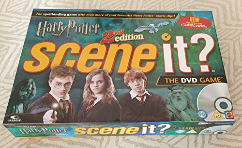 Harry Potter 2nd Edition Scene It? The DVD Game by Mattel