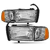 For Dodge Ram Pickup 1500 2500 3500 Headlights...