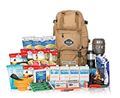 72-HOUR SUSTAINABILITY FOR FOUR PEOPLE - With this premium family emergency bag, you'll have all the supplies needed for 72 hours of survivial for four people, including 4 Sustain Survival water straws, a portable stove, food and more. SUPERIOR QUALI...