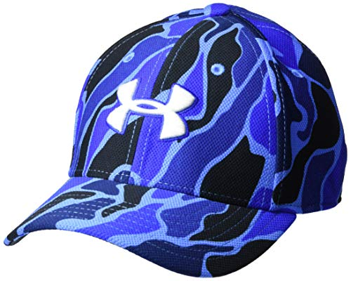 Under Armour Boys' Baseball Hat, Versa Blue, 1-3