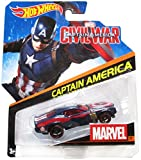 Hot Wheels Marvel Character Cars - Captain America Civil War #29