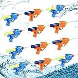 Herefun Pistola de Agua Pequeña, 12Pcs Pistola de Agua Verano Juguetes de Agua, Pistola de Agua Juguete, Piscina Juguetes Niños para Jardín Verano Piscina Playa Juego al Aire Libre (12PCS)