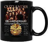 NA #Outlander 2014-2020 6th Anniversary Cast película firmada Regalo de cerámica Tazas Divertidas Tazas