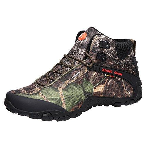 Zapatos de Deporte y Aire Libre, Botas Resistente al Agua de Invierno para Senderismo y Montaña para Mujer 82289 36