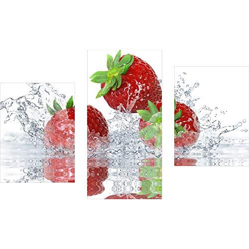 decorwelt | 3 piezas de cuadro de pared de cristal acrílico, 3...