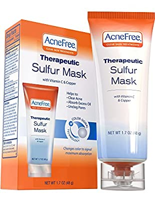 Acne Free Sulfur Mask