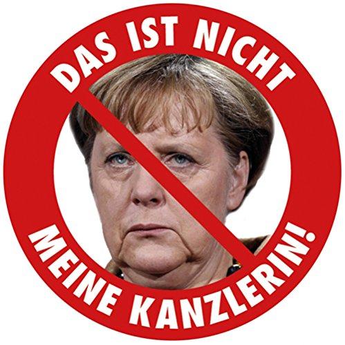 Aufkleber / Sticker - Das ist nicht meine Kanzlerin! Angela Merkel Protest Merkel muß weg Demo Deutschland Regierung Schnauze Voll