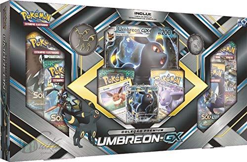 Box de Cartas Pokémon Premium - Umbreon-GX - Copag