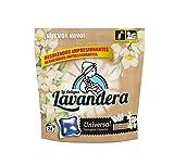 La Antigua Lavandera Detergente Universal en Cápsulas, 24 lavados - 5 Paquetes de 640 gr - Total: 3200 gr