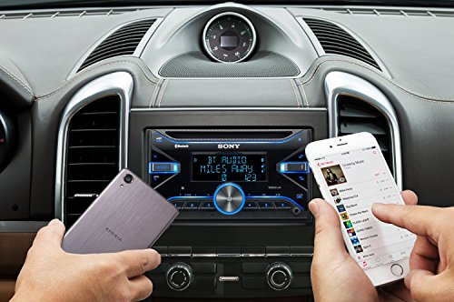 Sony WX-XB100BT Autoradios Bluetooth, En Façade