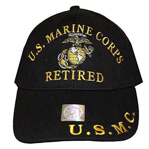 Once A Marine Always A Marine Retired Hat Black